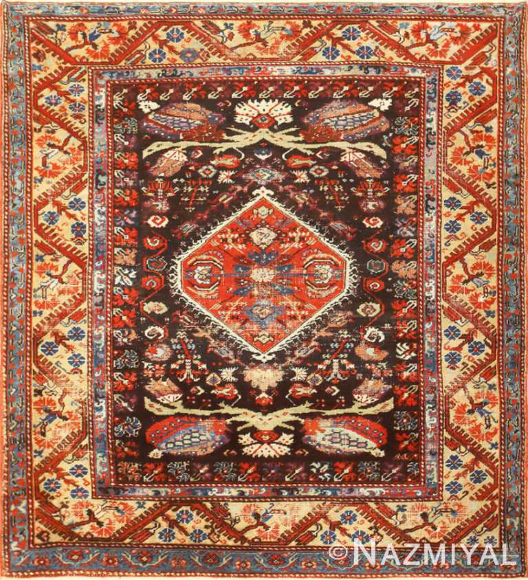 Rare 18th Century Antique Tribal Turkish Kula Rug 48808 Nazmiyal