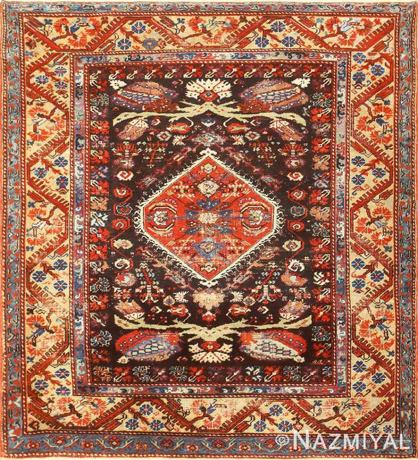 Rare 18th Century Antique Tribal Turkish Kula Rug 48808 Nazmiyal