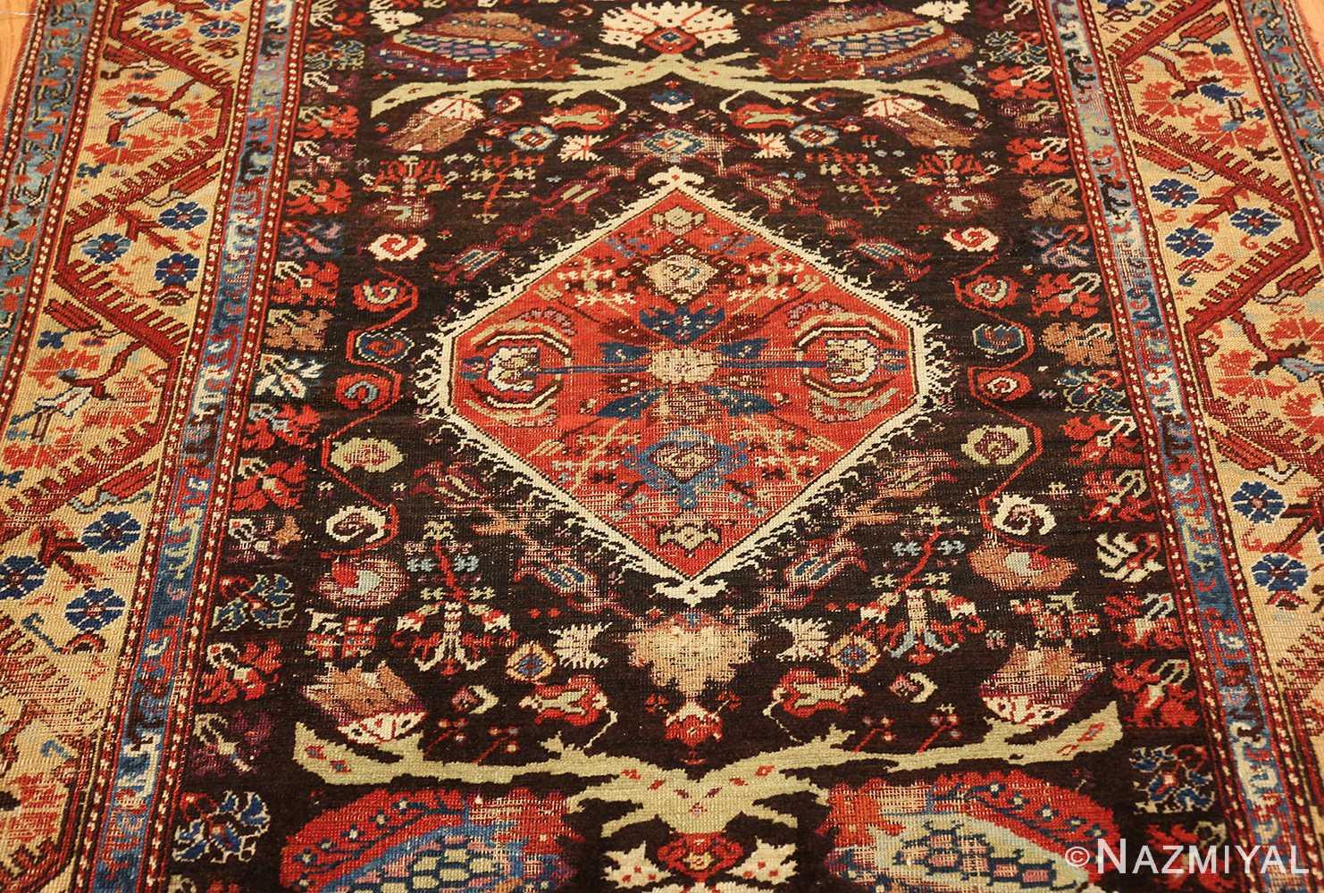 rare 18th century antique tribal turkish kula rug 48808 field Nazmiyal