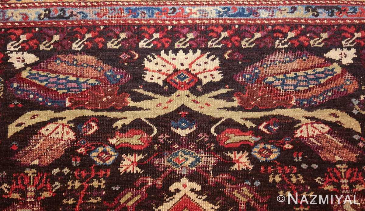 rare 18th century antique tribal turkish kula rug 48808 red Nazmiyal