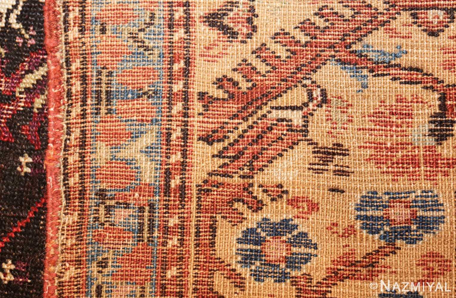 rare 18th century antique tribal turkish kula rug 48808 weave Nazmiyal