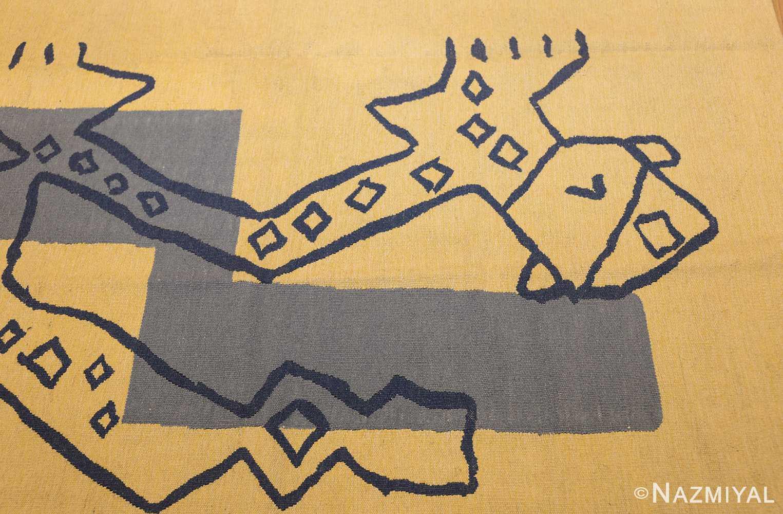 square vintage art deco french tapestry 48832 body Nazmiyal