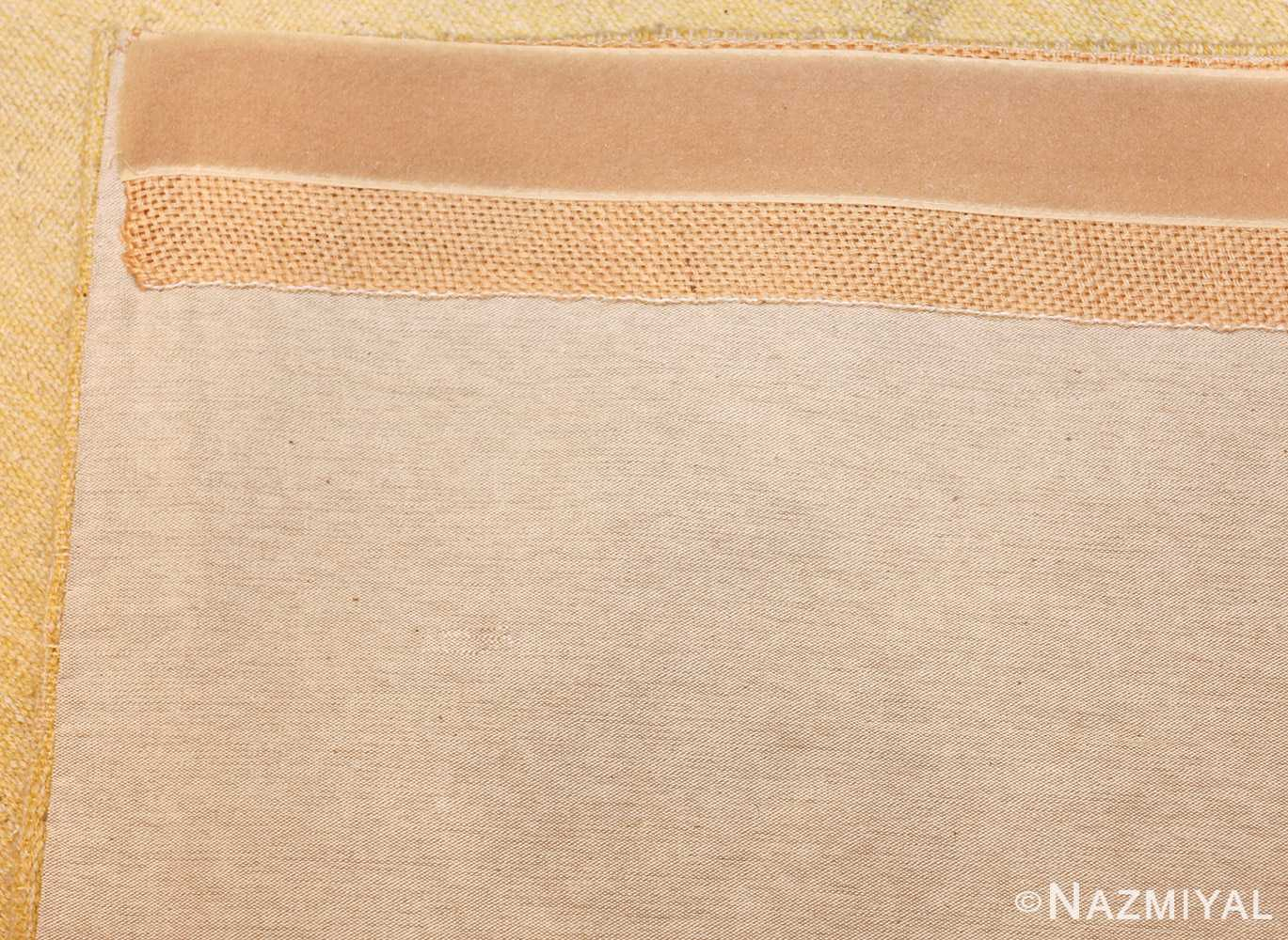 square vintage art deco french tapestry 48832 weave Nazmiyal