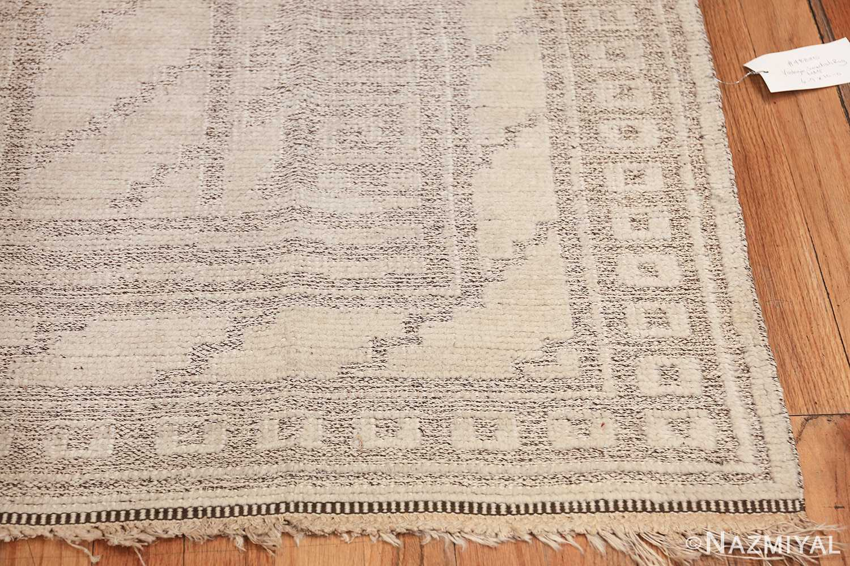 Vintage Swedish Scandinavian rug by Marta Maas 48830 corner Nazmiyal