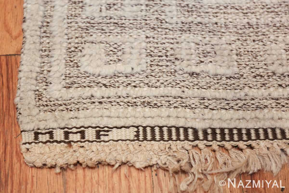 Vintage Swedish Scandinavian rug by Marta Maas 48830 signature Nazmiyal