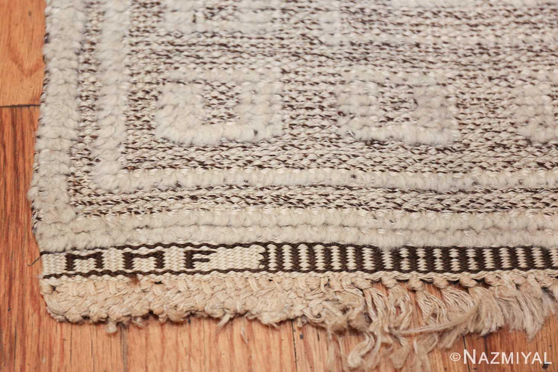 Vintage Swedish Scandinavian rug by Marta Maas 48830 signature Nazmiyal