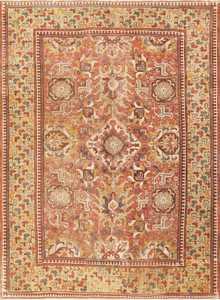 17th Century Antique Caucasian Kuba Blossom Carpet 48855 Nazmiyal