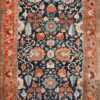 Antique Persian Blue Colored Heriz Rug 48860 Nazmiyal Antique Rugs