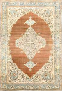 Beautiful and Rare Large Cotton Antique Tabriz Persian Rug 48815 Nazmiyal