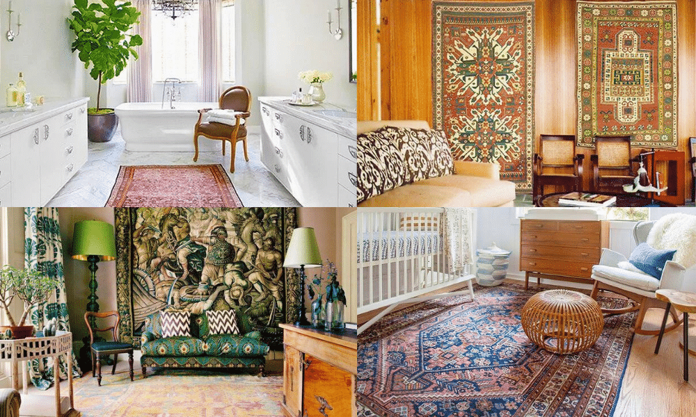 Decorating With Antique Rugs | Oriental