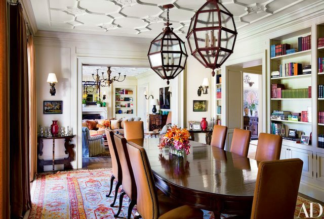 Dining Room Designed By Michael Smith Interiors by Nazmiyal