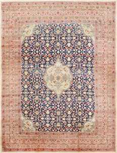 Finely Woven Large Oversized Antique Persian Kerman Rug 48945