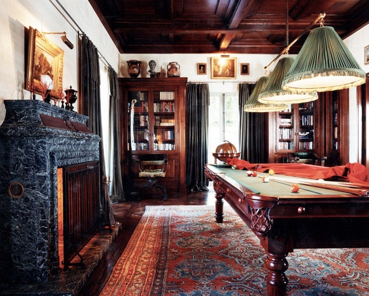Game Room Den Decorated by Michael Smith Inc by Nazmiyal