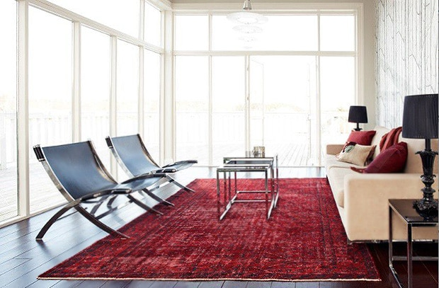 Decorating With Antique Rugs | Oriental Persian Rug Home Decor