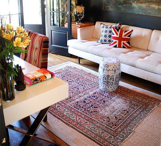 Home Interior Design With Oriental Rugs by Nazmiyal