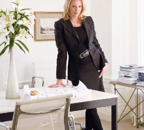 Portrait of Interior Decorator Victoria Hagan - Nazmiyal