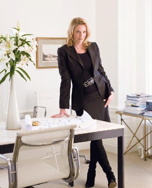 Portrait of Interior Decorator Victoria Hagan - Nazmiyal