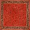 Large Square Size Antique Irish Donegal Rug 50452 Nazmiyal