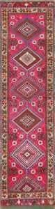 Tribal Antique Turkish Kirshehir Runner Rug 48883 Nazmiyal