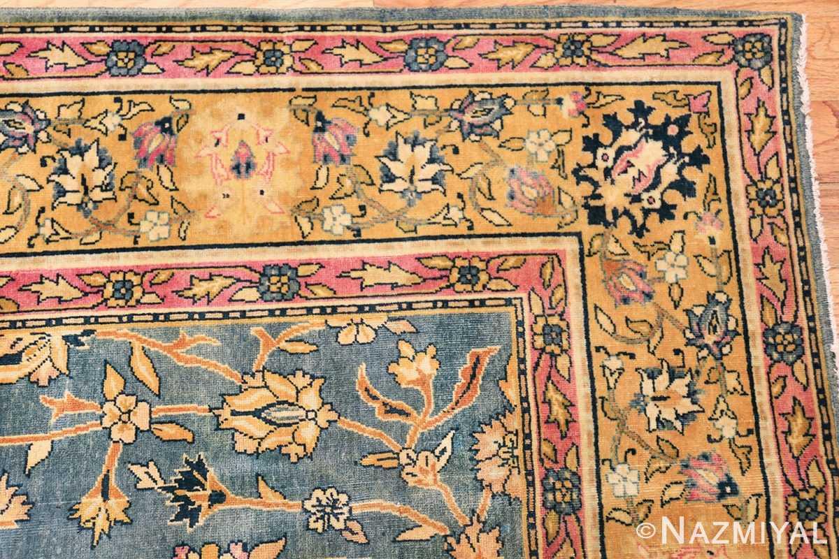 antique gallery size indian agra rug 48726 corner Nazmiyal
