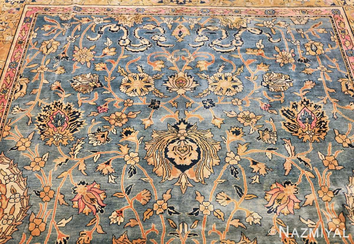antique gallery size indian agra rug 48726 top Nazmiyal