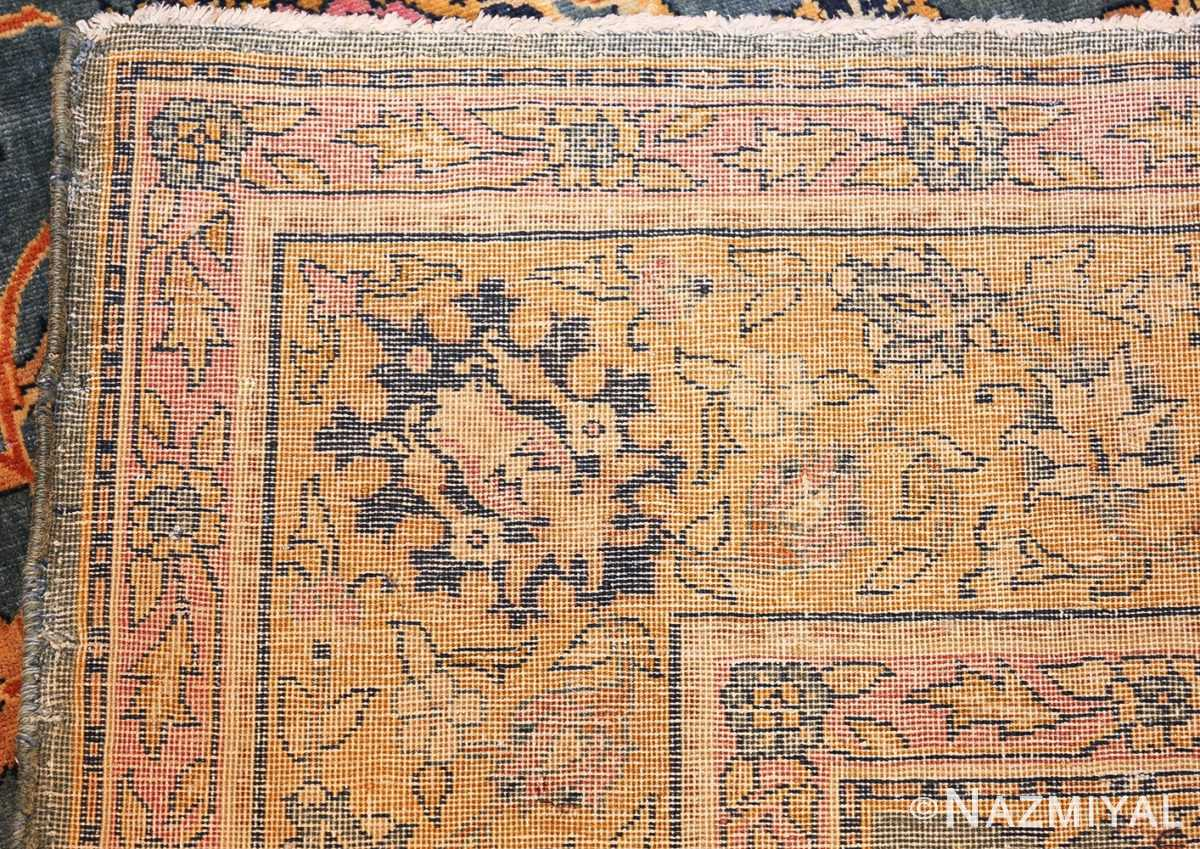 antique gallery size indian agra rug 48726 weave Nazmiyal