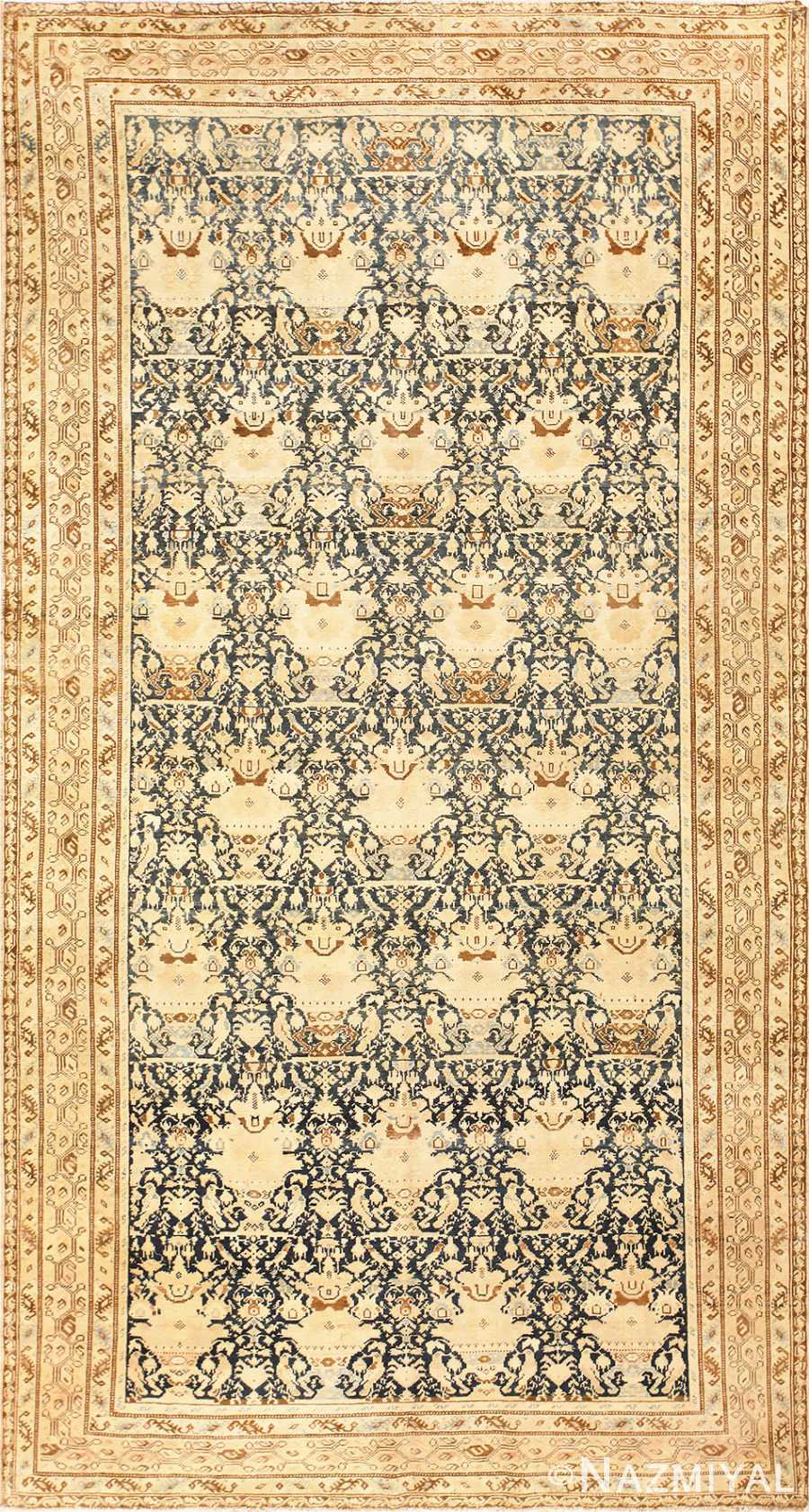 Antique Gallery Size Tribal Persian Malayer Rug 50662 Nazmiyal