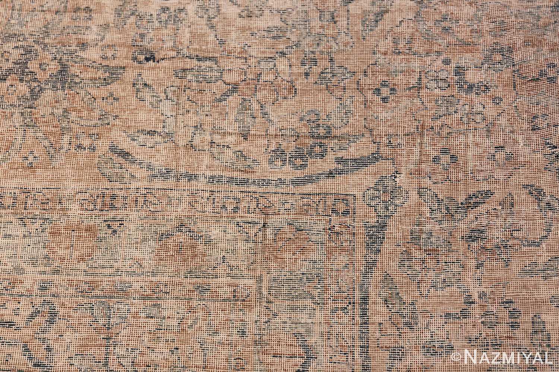Antique Oversized Lattice Design Persian Kerman Rug 48268 Knots Woven Nazmiyal