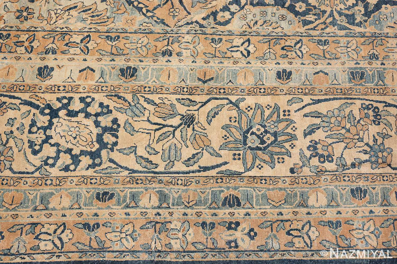 Antique Oversized Lattice Design Persian Kerman Rug 48268 Pattern Border Nazmiyal