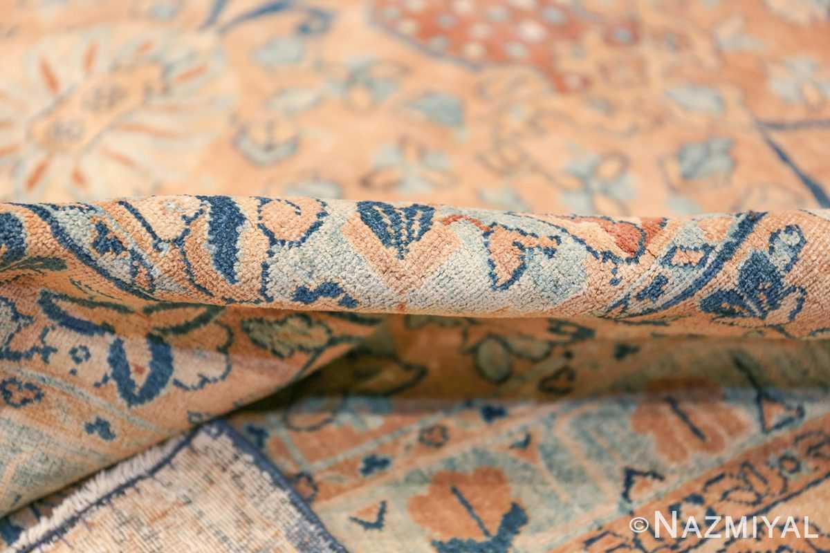 Antique Oversized Lattice Design Persian Kerman Rug 48268 Pile Color Nazmiyal