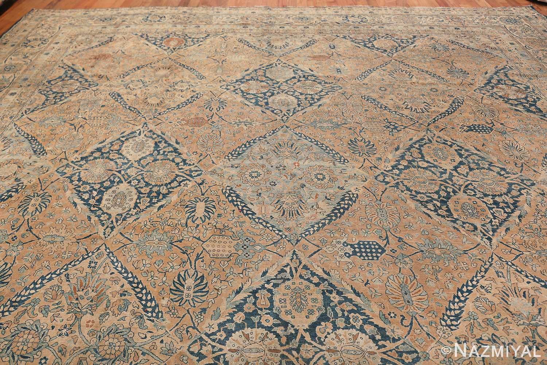 Antique Oversized Lattice Design Persian Kerman Rug 48268 Top Design Nazmiyal