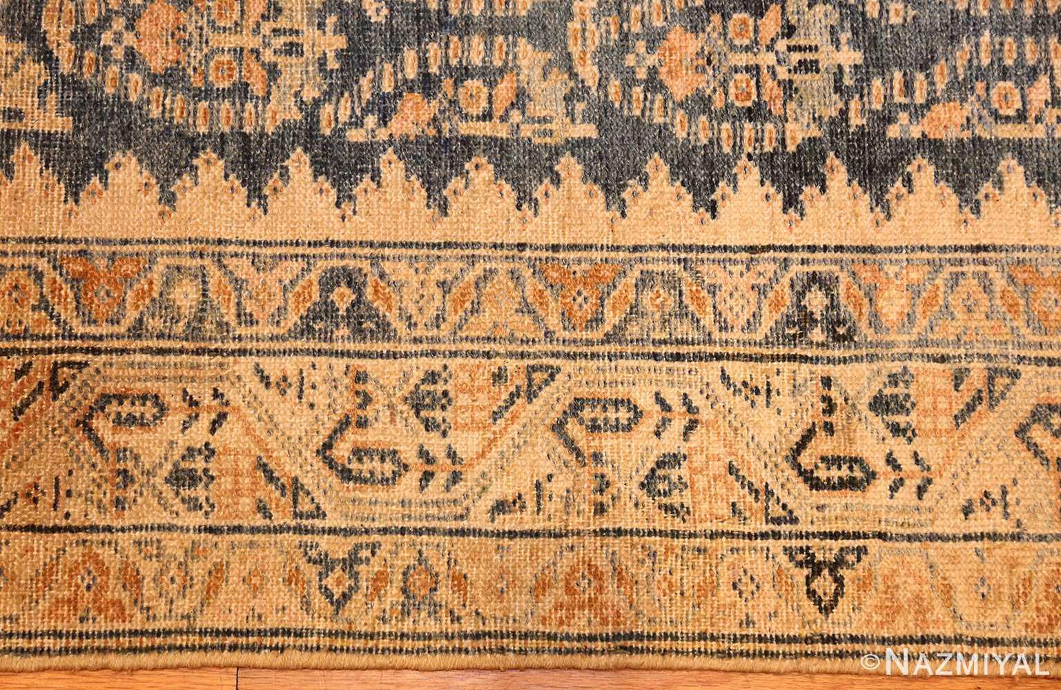 antique paisley design persian malayer runner rug 48824 border Nazmiyal