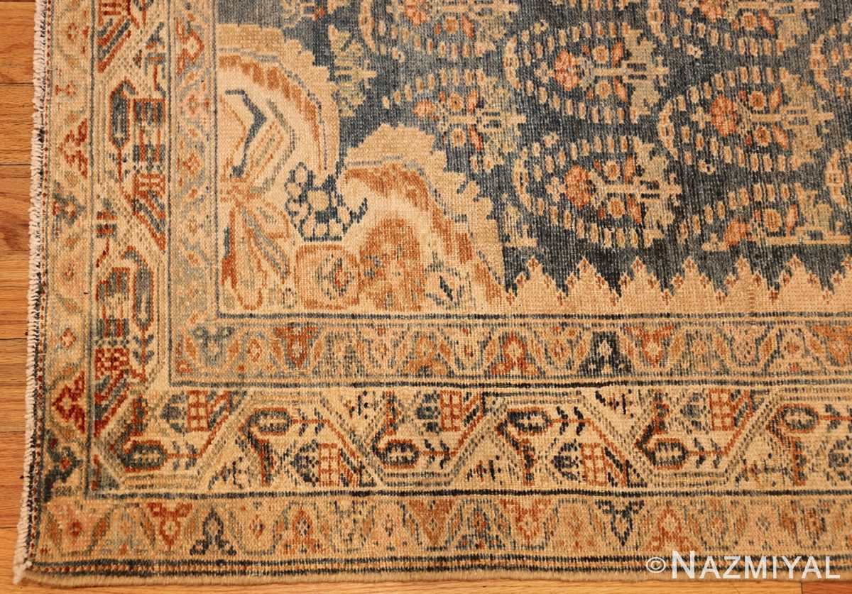 antique paisley design persian malayer runner rug 48824 corner Nazmiyal