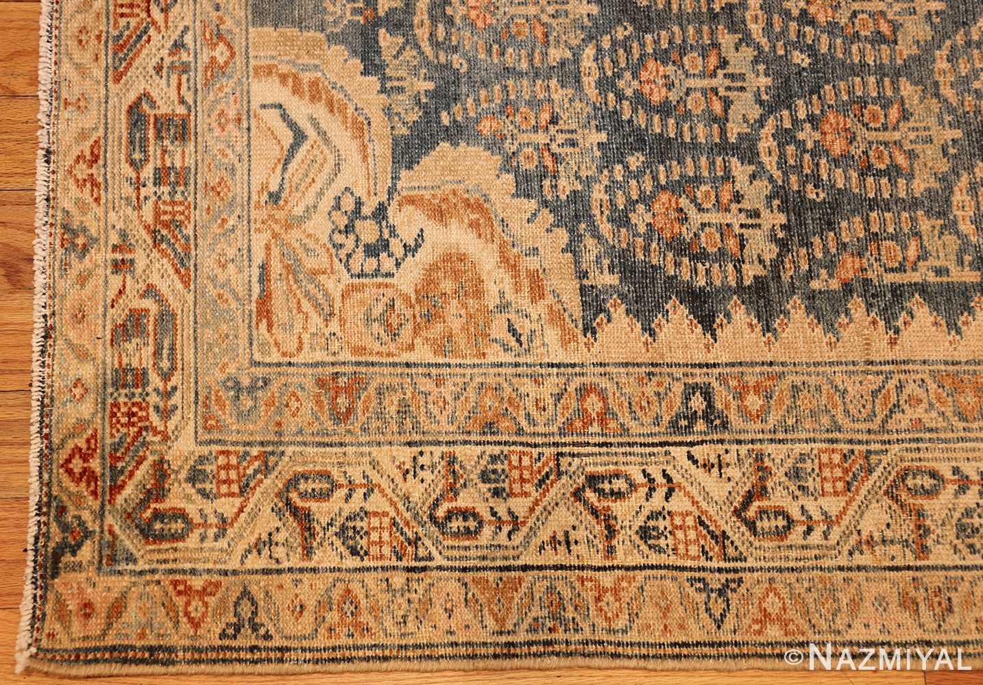 antique paisley design persian malayer runner rug 48824 corner Nazmiyal