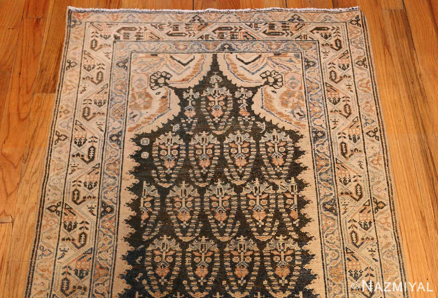 antique paisley design persian malayer runner rug 48824 top Nazmiyal