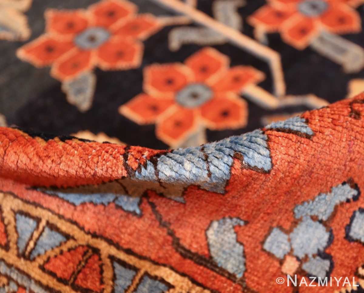 antique persian blue colored heriz rug 48860 pile Nazmiyal
