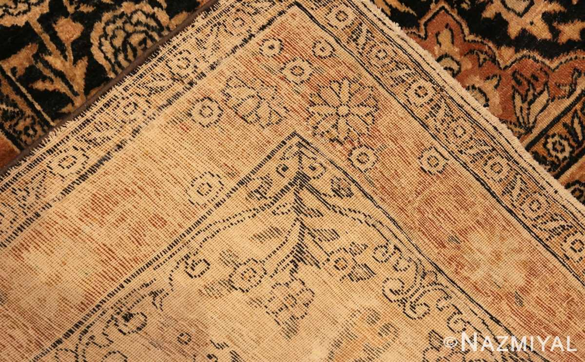 Field Picture of An Antique Persian Kerman Rug by Nazmiyal