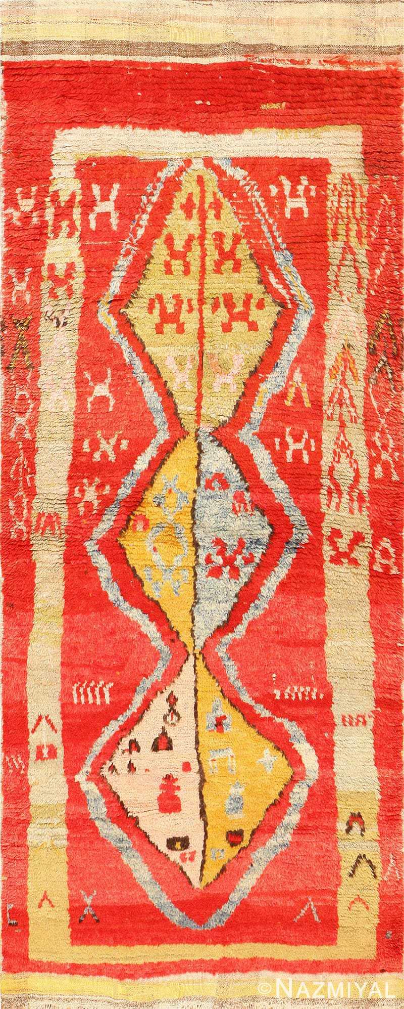 Antique Tribal and Collectible Turkish Yuruk Rug 48931 Nazmiyal