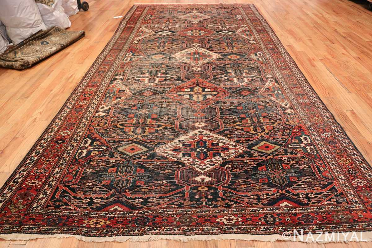 Antique Tribal Persian Bakhtiari Shabby Chic Rug 48937 Whole Design Nazmiyal