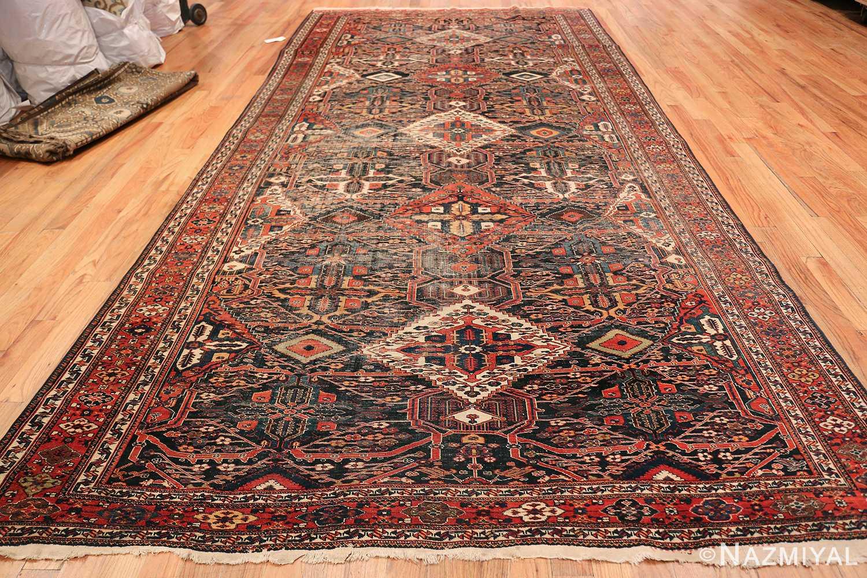Antique Tribal Persian Bakhtiari Shabby Chic Rug 48937 Whole Design Nazmiyal