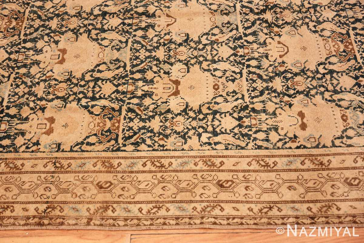 Border Antique gallery size Tribal Persian Malayer rug 50662 by Nazmiyal