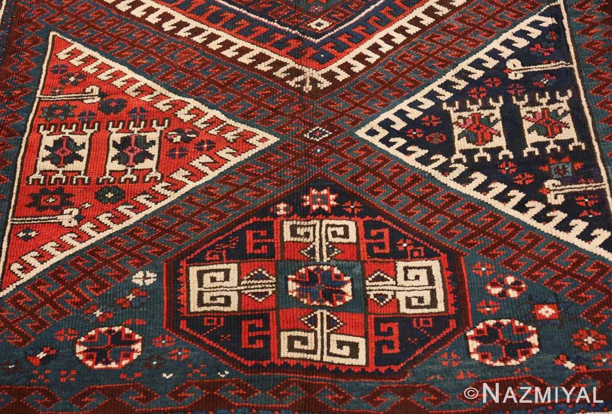 Center Colletible Antique Turkish Bergama rug 48884 by Nazmiyal