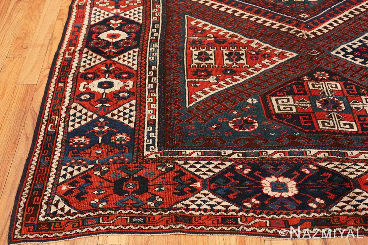 Corner Colletible Antique Turkish Bergama rug 48884 by Nazmiyal