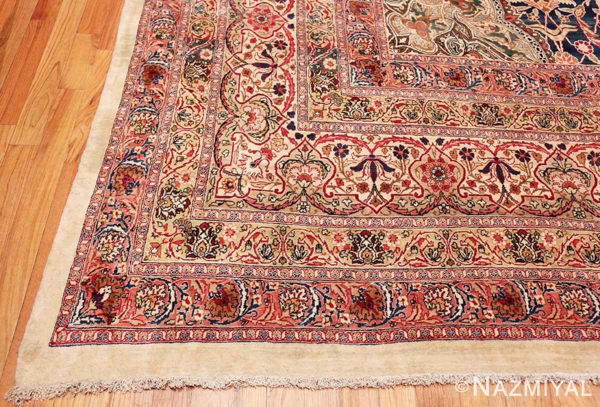 Corner Finely Woven Large Oversized Antique Persian Kerman rug 48945 by Nazmiyal