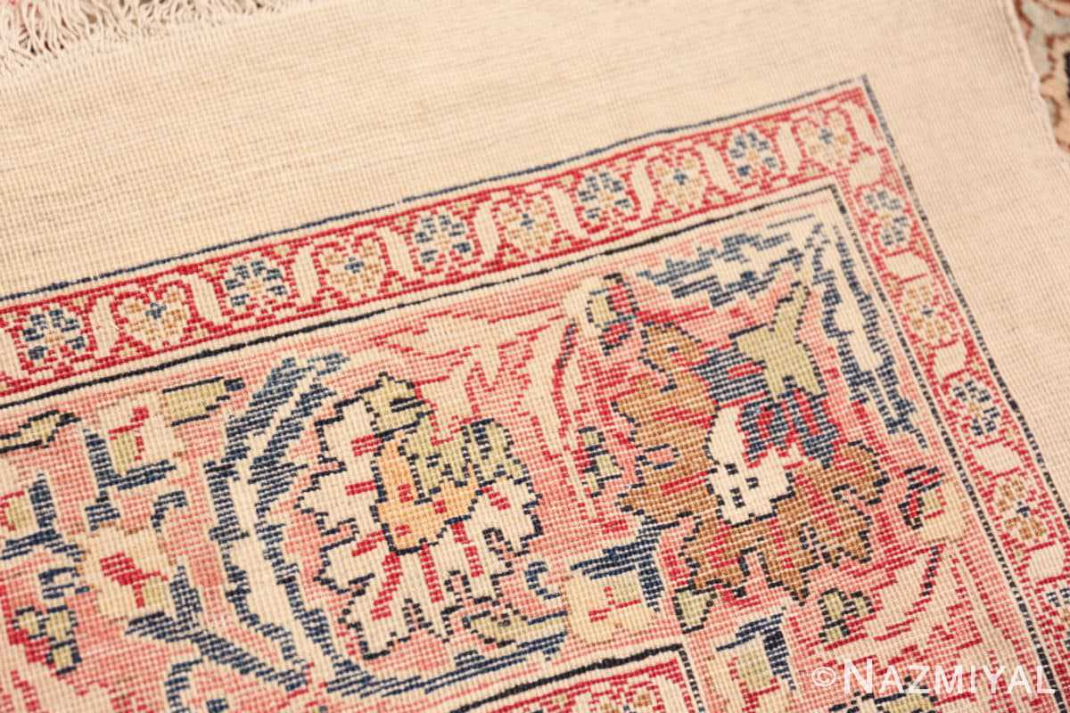 Back Detail Finely Woven Large Oversized Antique Persian Kerman rug 48945 by Nazmiyal