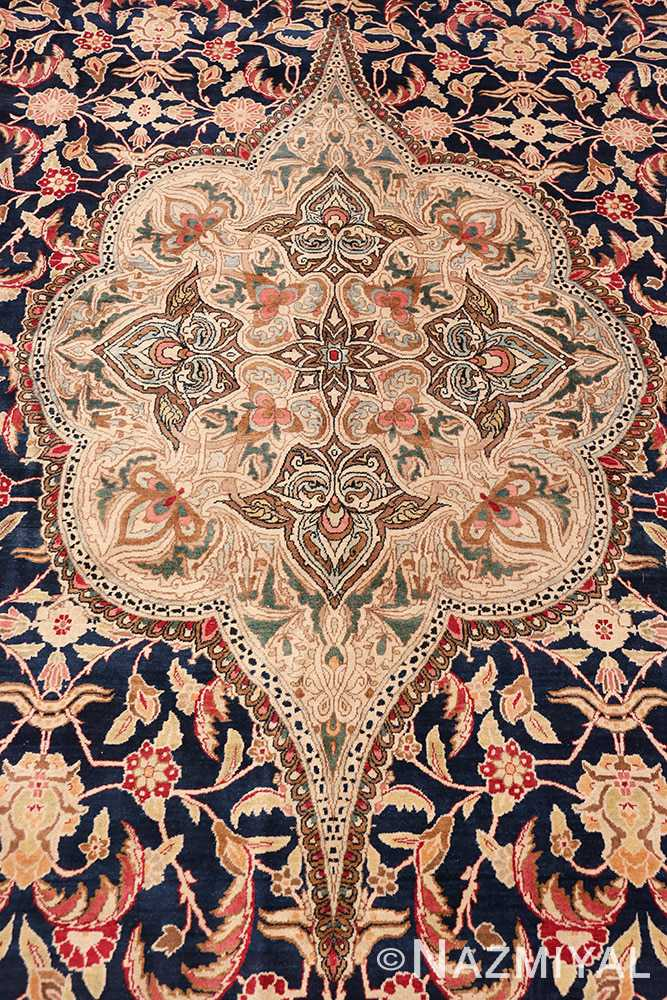 Detail Finely Woven Large Oversized Antique Persian Kerman rug 48945 by Nazmiyal