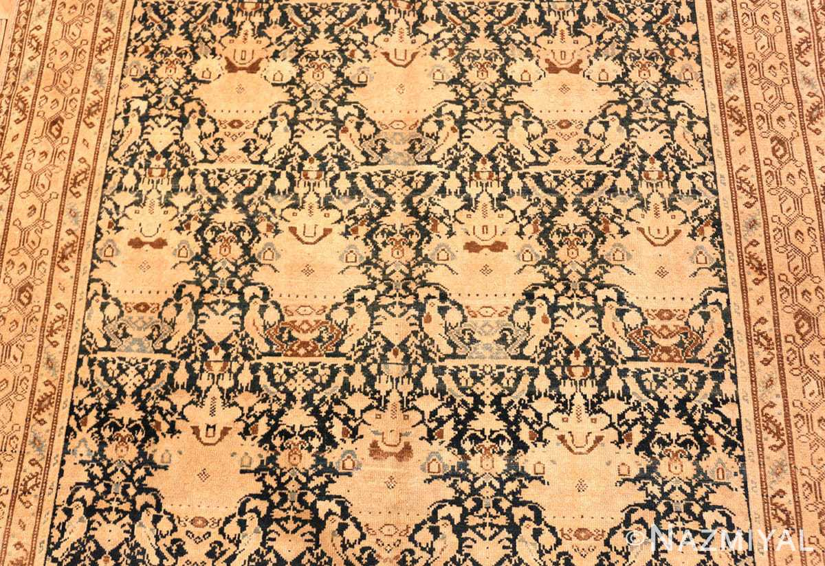 Field Antique gallery size Tribal Persian Malayer rug 50662 by Nazmiyal