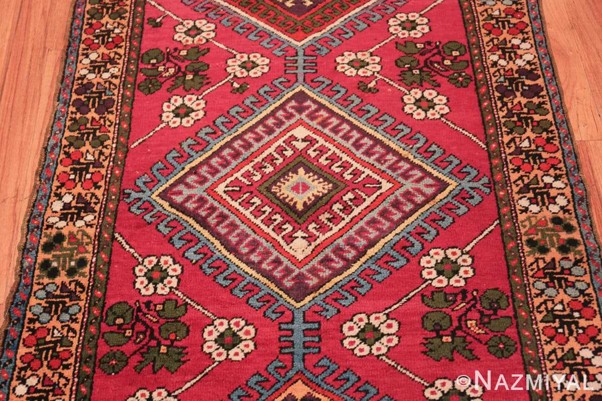 Field Tribal Antique Turkish Kisheshir runner rug 48883 by Nazmiyal