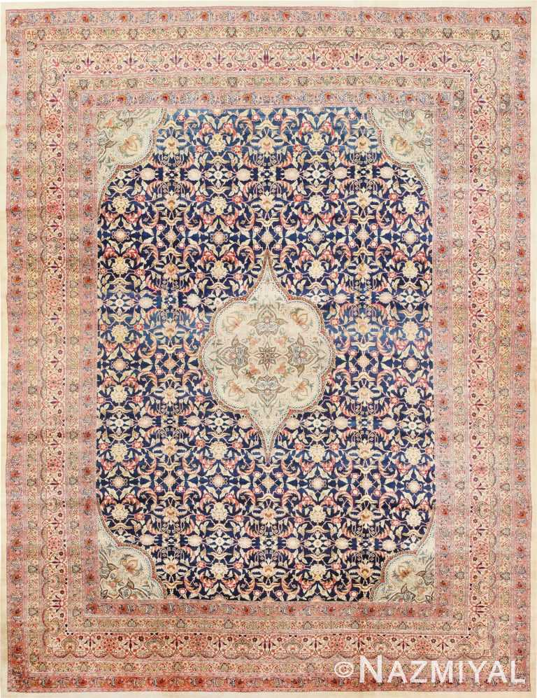 Finely Woven Large Oversized Antique Persian Kerman Rug 48945 Nazmiyal
