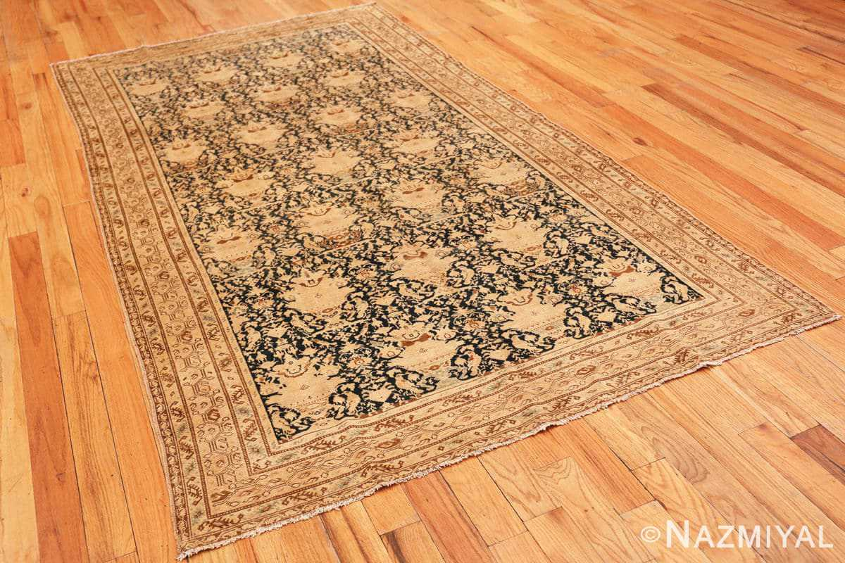 Full Antique gallery size Tribal Persian Malayer rug 50662 by Nazmiyal